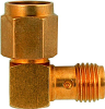 R. Angle SMA Female to SMA Male Adapter -- 9247 - Image