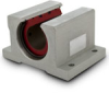 Frelon® Lined Pillow Blocks, Open Type Precision Series– Inch -- BLAABX-PN32XOP -Image