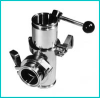 Air Actuated Double Disc Divert Valve -- LUDD7-AS-MP-3 -- View Larger Image