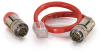1ft RapidRun® Digital Runner (Red) Test Adapter Cable -- 2212-42186-001 - Image