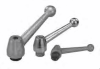 Stainless Steel Adjustable Clamp Levers With Female Threads -- 06440-1112