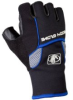 Body Glove 90326 Half-Finger Mechanics Style Gloves, Bla…