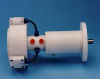 Dynatork Free Piston Air Motor with Planetary Worm Gearbox -- 3A81