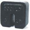 Couterpoise Cast Iron Test Weights -- Individual Slotted Fairbanks® Square