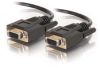 10ft DB9 F/F Cable - Black -- 2302-52036-010 - Image