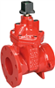 Gate Valve – Ductile Iron, Irrigation, Flanged -- FPCR-619-RW