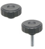 Soft-touch Fluted Grip Knob -- KN-SOFT