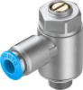 One-way flow control valve -- GRLA-1/8-QS-6-MF-D -Image