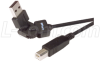 Flex USB Cable - Rotating USB A Male / Standard USB B Male 6 ft -- CAFLEX AM-BM-6