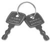 Concealed Push-To-Close Latches, Actuators -- M1-546
