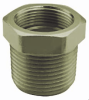Nickel-Plated Brass NPT-Metric Thread Adapter -- 6402216 -Image