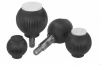 Novo-Grip® Plastic Grip Ball Knobs -- 06245-410*