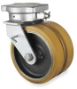 Dual Wheel Swivel Caster,Rating 10285 lb -- 4W771 - Image