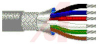 Cable; 9 cond; 22 AWG; Strand (7X30); Foil+braid shielded; Chrome jkt; 500 ft. -- 70005318 -- View Larger Image