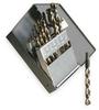 Jobber Drill Set,3/8 Shank,15 PC,HSS -- 1TPE2 - Image
