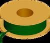 Flexible Tubing, 90 Shore A, Green Transparent -- AP02T161PEGRT