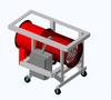 Process Air Heater - Forced Air - Rental Grade Portable Blower Heater -- SDRA-RG