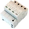 AC Surge Protector SPD I2R-T240 DIN-Rail 277 Vac 3-Phase Wye + CM MOV, GDT 40 kA, IEC 61643-11 Class II, CE, RoHS -- I2R-T240-4PG277 -Image