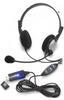Andrea Electronics NC-185VM USB Stereo PC Headset - Noise Ca -- C1-1022600-50
