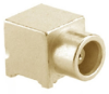 RF Coaxial Board Mount Connector -- 85MCX-S50-0-25H -Image