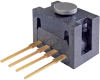 FSG Series force sensor, uncompensated/unamplified, analog output, 0 N to 10 N force range, blister pack packaging -- FSG010WNPB -Image