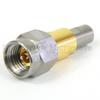 2.92mm Male (Plug) to SMP Male (Plug) Full Detent Adapter, Beryllium Copper Gold Body, High Temp, 1.25 VSWR -- SM8858 - Image