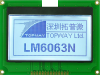128x64 Graphic Display Module -- LM6063NCW - Image