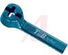 Ty-Rap Detectable Cable Ties; Length:3.62in; Width:0.093in; Nylon 6.6; Diameter -- 70092609