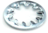 #10 Internal Tooth Lock Washer, Zinc -- WSHINT0100BZ - Image