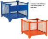 Wire Mesh Containers -- H600-411-GN -- View Larger Image