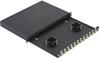 Fiber Enclosures : Fiber Enclosures with Sliding Trays -- FD1W24AQDLC