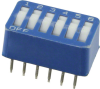 DIP Switches -- 2-5435668-6-ND -- View Larger Image