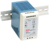 100 Watt Industrial DIN Rail Power Supply -- MDR-100 Series -- View Larger Image