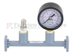WR-34 Waveguide Pressurizing Section 4.25 Inch Length with UG-1530/U Square Cover Flange from 20 GHz to 33 GHz -- FMWSP1002 - Image