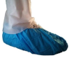 Epic Blue Large Disposable General Shoe Cover - Polyethylene Upper - 747773-L -- 747773-L - Image
