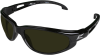 Edge Dakura Safety Glasses with Black Frame and Shade 5 -- SW11-IR5