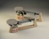 Ohaus Triple Beam Balance - TRIPLE BEAM SCALE, 610g X 0.1g W/SS PLATE, AND TARE BEAM -- 760