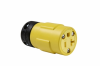 Pass & Seymour® -- Rubber Housing Connector Yellow - 1533