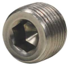 Hex Socket Plug,Sz 1/16 In,L 5/16 In -- 4WPK1 - Image