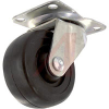 Enclosure,Casters,Med-Duty,700Lb WeightCap,Swivel,3in Dia,Black,Mtg Hdwr Incl -- 70167184