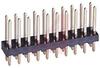 Header; Standard; PC Board; Dual; 20; 0.025 in.; 0.125 in.; 3 A; 5000 Megohms -- 70082851