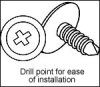 Miscellaneous Electrical Fixings, Fasteners and Supports -- CADDY® Wafer Head Sheet Metal Screw - Image