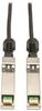SFP+ 10Gbase-CU Passive Twinax Copper Cable, SFP-H10GB-CU3M Compatible, Black, 3M (10-ft.) -- N280-03M-BK - Image