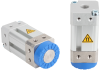 Magnetic gripper for handling metal sheets with holes, Stainless-steel housing base SGM-HD 30 G1/8-IG -- 10.01.17.00184