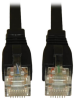 Augmented Cat6 (Cat6a) Snagless 10G Certified Patch Cable, (RJ45 M/M) - Black, 5-ft. -- N261-005-BK - Image