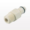 PMC12 Series Coupling Insert, Shut OffPolypropylene In-Line Pipe Thread -- PMCD240212 -Image