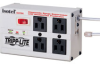 4-outlet, 6-ft Cord, 3330 Joules, Modem/fax Protection, All Metal Housing Isobar Surge Suppressor -- ISOTEL4ULTRA - Image