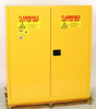 Eagle 110 gal Yellow Hazardous Material Storage Cabinet - 58 in Width - 65 in Height - 048441-33481 -- 048441-33481 - Image