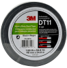 3M DT11 Black Duct Tape - 48 mm Width x 54.8 m Length - 11 mil Thick - 98119 -- 076308-98119