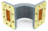 WR-137 Waveguide E-Bend Commercial Grade Using CPR-137G Flange With a 5.85 GHz to 8.2 GHz Frequency Range -- SMF137EBA - Image